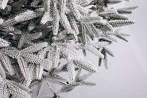 Ялинка штучна лита Альпійська засніжена 1,8м, фото 2