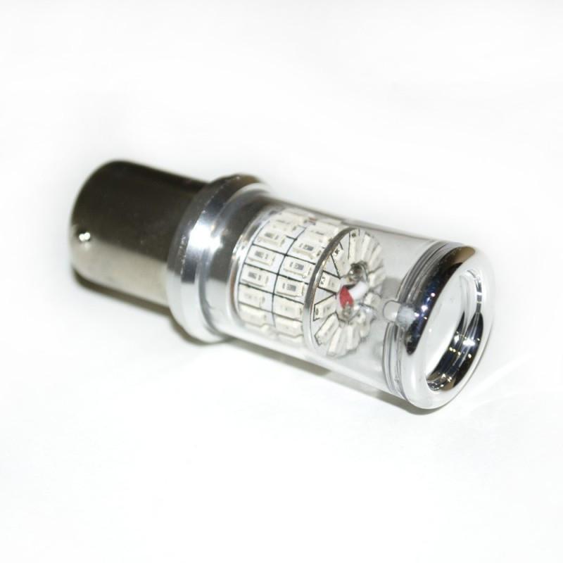 LED Galaxy S25 ( P21W 1156 BA15S ) 3014 48SMD Red (Червоний)