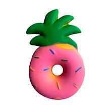 Мягкая игрушка антистресс Сквиши Squishy Пончик - Ананас (tdx0000070)