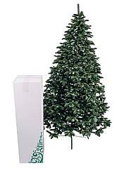 Ялинка штучна лита Канадська елітна зелена 2,1 м