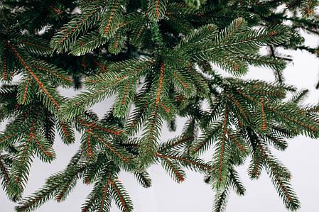 Ялинка штучна лита Карпатська Смерека зелена 2,1 м, фото 2