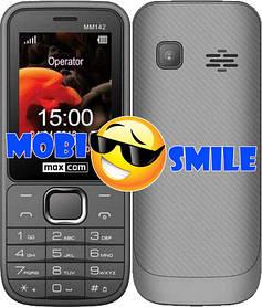 Телефон Maxcom MM142 Gray Гарантія 12 місяців