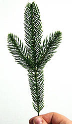 Гілка штучна лита зелена №10/-500шт