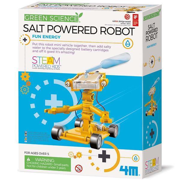 Науковий набір 4M Робот на енергії солі (00-03353)