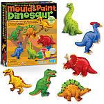 Набір для творчості 4M Магніти з гіпсу Динозаври (00-03514), фото 4