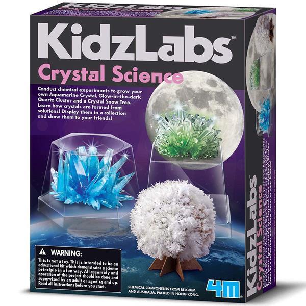 Набір для досліджень 4M Наука про кристали (00-03917/EU)
