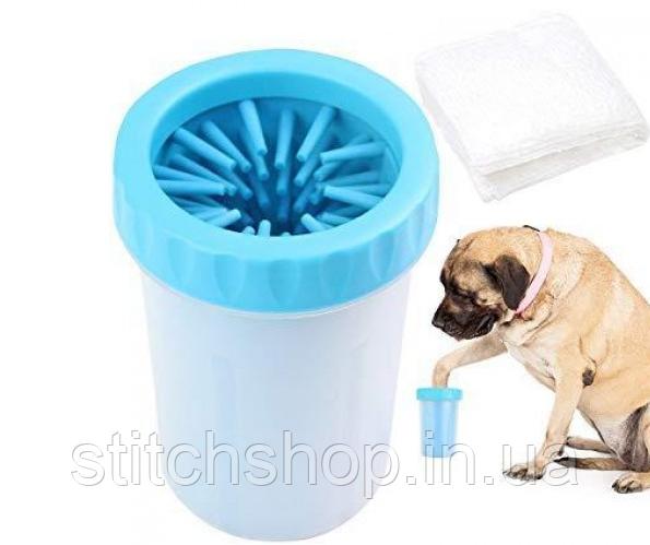 Лапомойка - Стакан для митья лап DOG FOOT WASH (L)