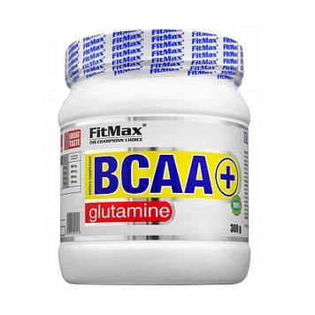 Аминокислоты Бцаа + Глютамин FitMax BCAA + Glutamine (300 g) lemon-grapefruit