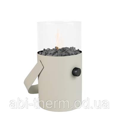 Настольный газовый мини-камин (фонарь) Areesta Cosiscoop ivory
