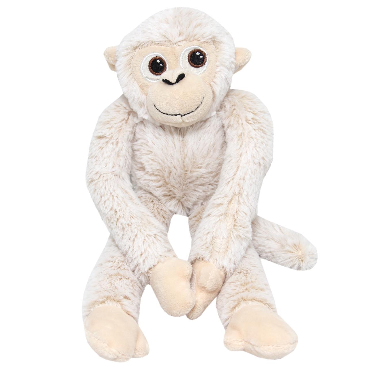 Мягкая игрушка - Обезьянка, 35 см, бежевый, полиэстер (M1424235)