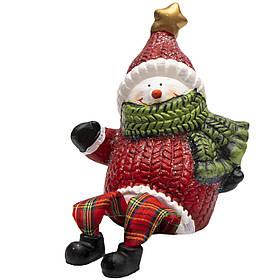 Декорация - снеговик, 13,2 см (022823)