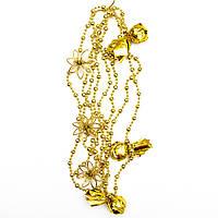 Декорация - подвеска с украшениями, 2,7 м, золото (472109-2), фото 1
