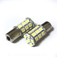 LED Galaxy S25 ( P21W 1156 BA15S ) 5050 27SMD White (Белый), фото 1