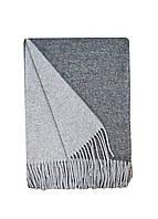 Плед  шерсть  2 цвета св.серый-тем.серый Love You 4245 140x200 см