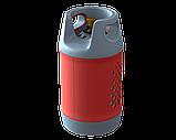 Балон газовий Areesta HPCR-G. 12, 24,5 л (Чехія, під Евроредуктор), фото 3