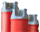 Балон газовий Areesta HPCR-G. 12, 24,5 л (Чехія, під Евроредуктор), фото 6