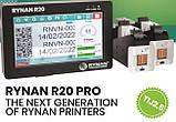 Термоструйный маркиратор Rynan R20 Pro ( 25.4 мм высота печати. 2 головы), фото 3