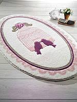 Набор ковриков 66х107, 66х53 Confetti Bella Bird Cage розовый