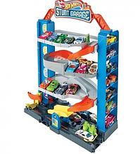 Набор игровой Четырехэтажный гараж для машинок Hot Wheels (GNL70)