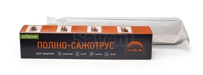 Полено-трубочист Ecodym для чистки дымохода.