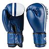 Перчатки боксерские VENUM VM19-12B синие размер 12 унц. (реплика), фото 2