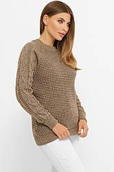 Зручний светр жіночий в розмірі over size
