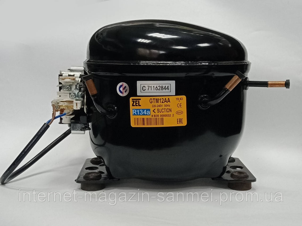 Компрессор Zanussi ZEL GTM12AA  ( R134a 320Вт)