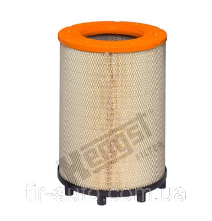 Фильтр воздушный SCANIA 4, P,G,R,T ( с ножками под круг ) ( HENGST ) E1013L