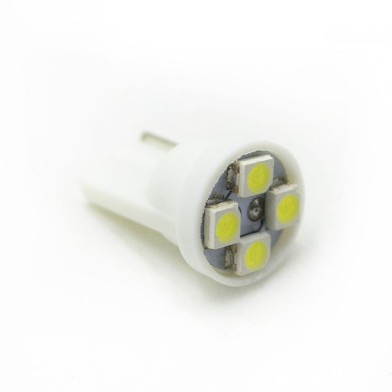 LED Galaxy T10 ( W5W ) 3528 4SMD White (Белый)