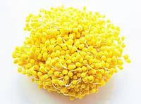 Тычинки Сахарные Желтые на нитке 5 мм 850 шт/уп