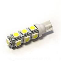 LED Galaxy T10 ( W5W ) 5050 13SMD White (Белый), фото 1