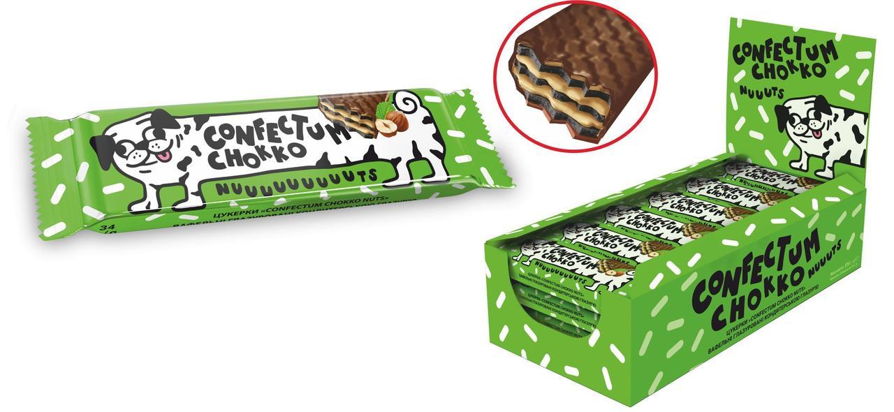 Батончик «Confectum Chokko Nuts»