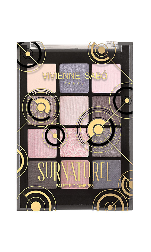 Vivienne Sabo SURNATUREL Палетка тіней 12 кольорів 12 мл код 27050