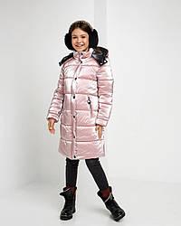 Зимова тепла куртка на синтепухе Уляна