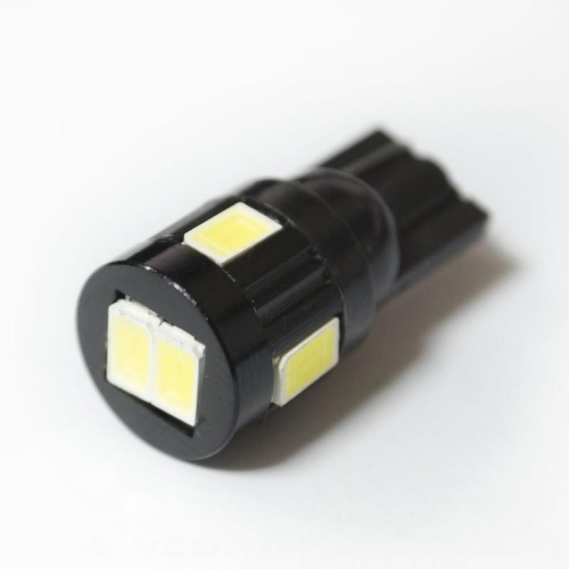 LED Galaxy T10 ( W5W ) 5630 6SMD White (Белый)