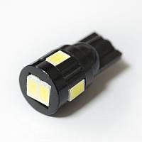 LED Galaxy T10 ( W5W ) 5630 6SMD White (Белый), фото 1