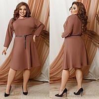 Платье женское с пояском в расцветках 80574, фото 1