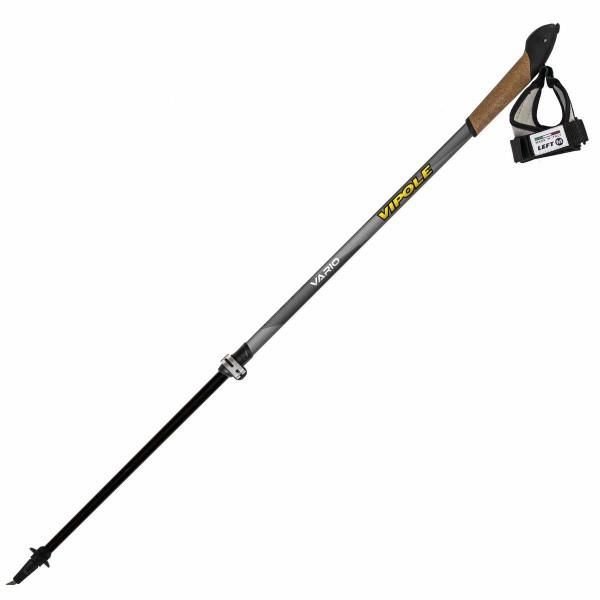 Палки для скандинавской ходьбы Vipole Vario Top-Click QL K.T. Dark DLX S1856