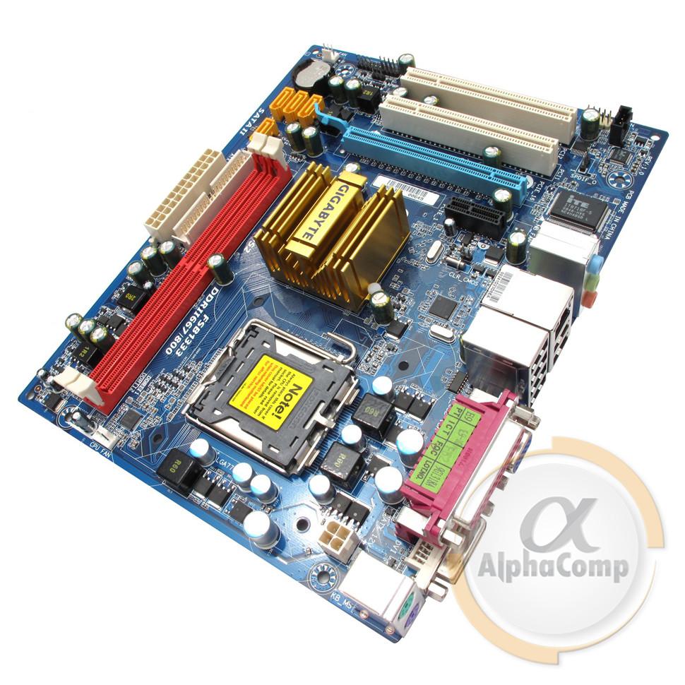 Материнская плата Gigabyte GA-73PVM-S2 (s775/GeForce 7100/2xDDR2) БУ
