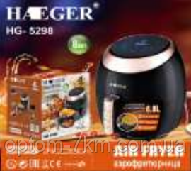 Мультипечь-Аэрофритюрница Haeger HG-5298 6.8 л D