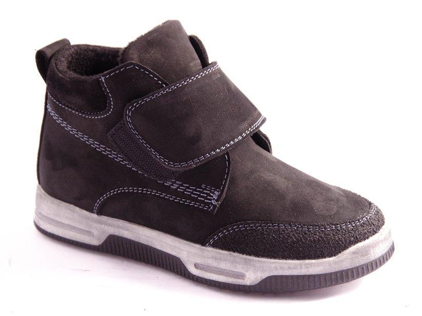 Ботинки подростковые черные Arial 19-1722