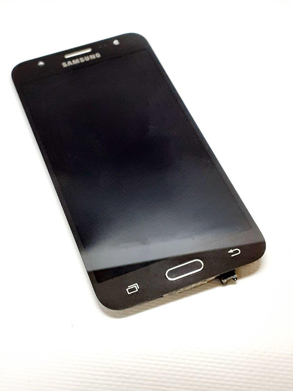 Модуль сенсор + дисплей черный  Samsung J5 J500H  оригинал б.у.