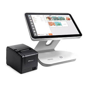 """POS комплект для кафе, ресторана Android ПОС терминал 15,6"""", принтер чеков + Облачная программа"""
