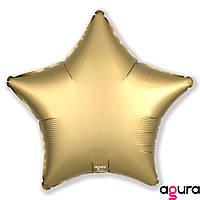 Фольгированный шар 19' Agura (Агура) Звезда Мистик-золото, 49 см