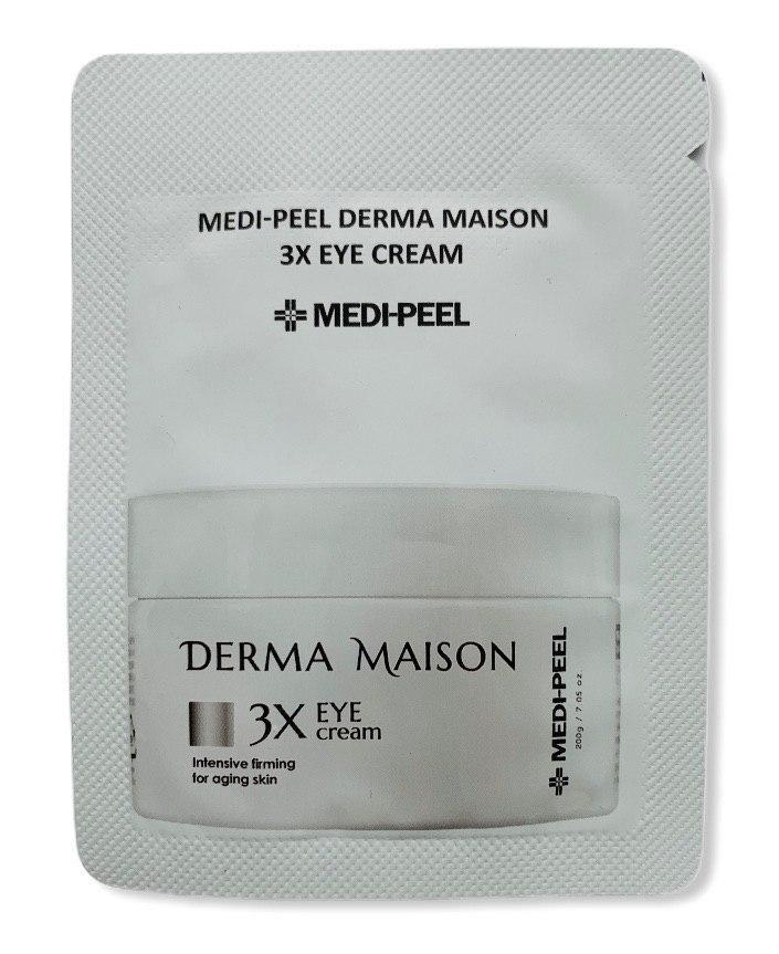 Крем для век со стволовыми клетками и пептидами MEDI-PEEL Derma Maison 3X Eye Cream, 1.5 гр.