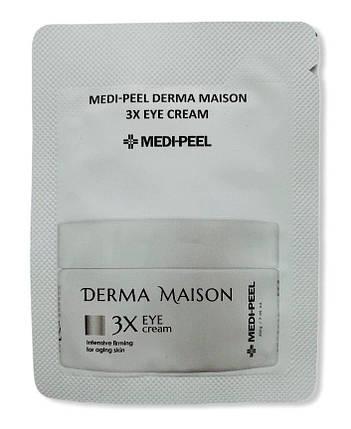 Крем для век со стволовыми клетками и пептидами MEDI-PEEL Derma Maison 3X Eye Cream, 1.5 гр., фото 2
