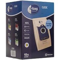 Комплект мешков E200SM бумажных (15шт) для пылесоса Electrolux 900168800
