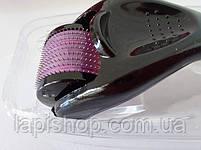 Мезороллер для кожи DERMA ROLLER 540 иголочек (дермароллер), фото 2