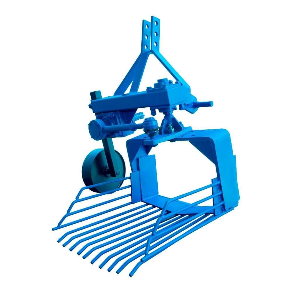 Картофелевыкапыватель  вибрационный однорядный  к трактору  (ДТЗ-1В)