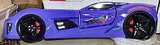Боковины от детской кровати MUSVENUS Mvn3 Car Bed, Цвет синий, 242 см, фото 3